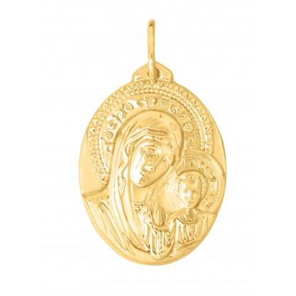 Иконка из рыжего золота